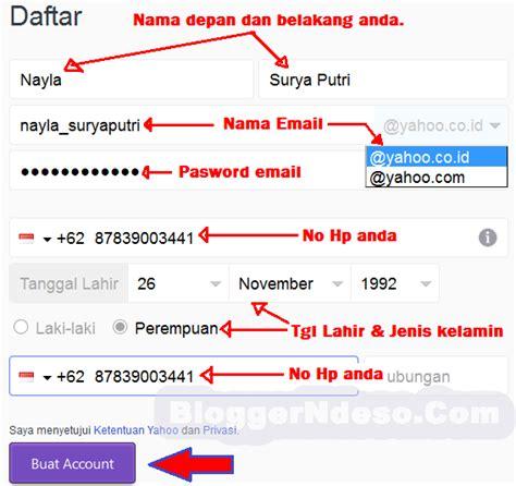 cara membuat email yahoo di google tutorial lengkap cara membuat email baru di yahoo mail