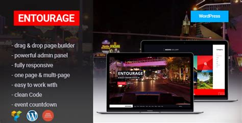 wordpress themes for live tv entourage movie film cinema tv wordpress theme