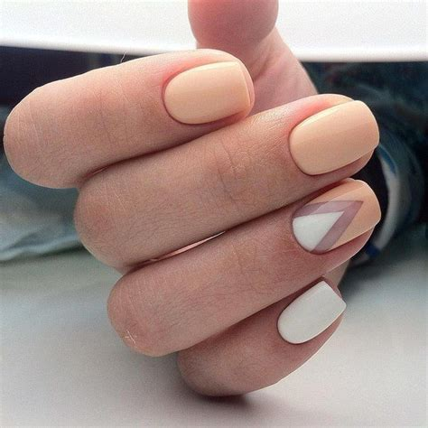 beige color nails best 25 two color nails ideas on nails