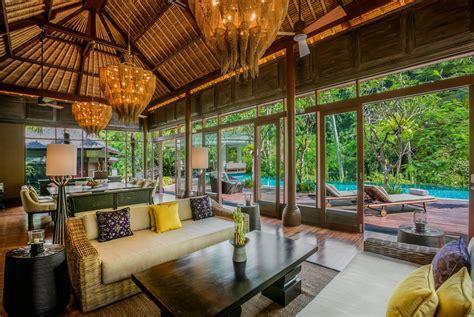 balis  expensive hotel villas architectural digest