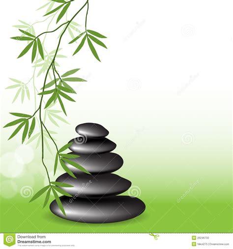 imagenes zen con velas bamb 250 y piedras de las ramificaciones foto de archivo