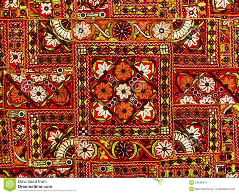 Indian Patchwork - indian patchwork carpet stock photo image 24546370