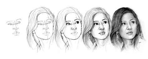 cara menggambar anime hitam putih 3 cara mudah menggambar wajah manusia beserta contohnya