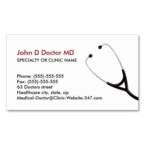 doctor business card template free 199 best images about cardiologist business cards on