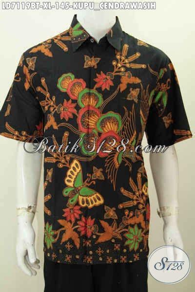 Baju Batik Kombi Burung jual kemeja batik moti kupu dan burung cendrawasih hem