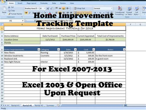 home renovation budget excel spreadsheet made with
