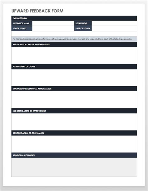 candidate evaluation template candidate evaluation template new end free employee performance review templates smartsheet