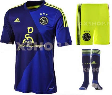 Jersey Ajax Away By Premier Sport new ajax 2014 15 kits released