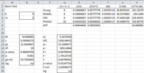 covariance statistics