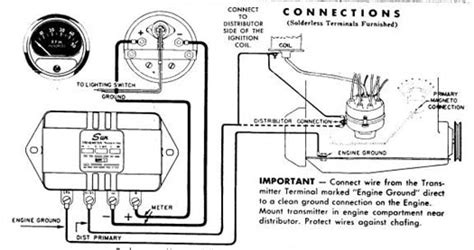 sun tach wiring diagram technical need help wiring sun transmitter tach the h