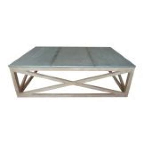 Zinc Top Coffee Table Zinc Topped Coffee Table For The Home Pinterest