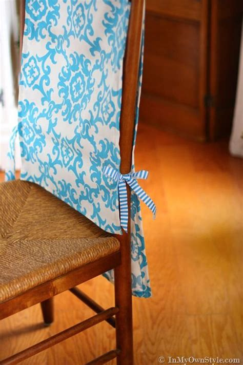 How To Make Easy Slipcovers For Dining Room Chairs The World S Catalog Of Ideas