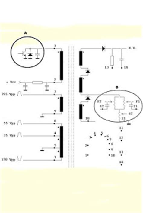 dioda vertikal service tv tabung dan trobbleshoting rangkaian penguat vertical dan horinzontal