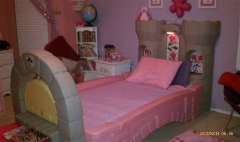 little tikes girl bed little tikes castle bed for sale