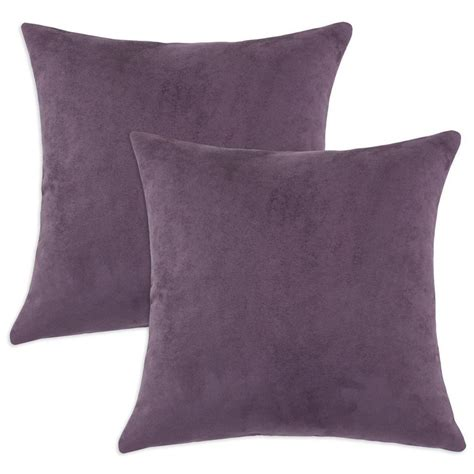 Purple Sofa Pillows Decorative Throws