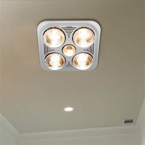 Bathroom Heat Ls Lighting And Ceiling Fans Eurolux 4 Light Ceiling Mount Bathroom Heater Livecopper