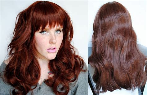 two tone hair color ideas for 2016 reddish brown hair colors in 2016 amazing photo