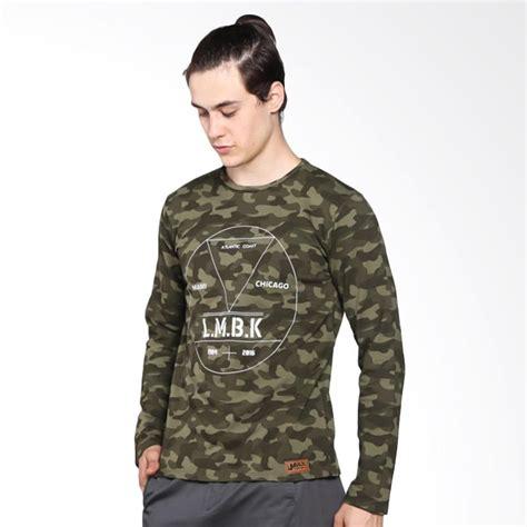 Sweater Raxzel Harga Limback 3035 Atlantic Sweater Pria Hijau Army
