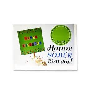 How To Make A Greeting Card For Birthday - happy sober card alcoholics anonymous cleveland