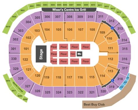 rogers arena floor seating plan rogers arena tickets in vancouver british columbia rogers