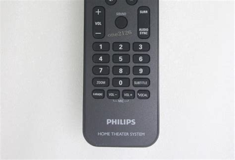 remote for philips home theater system hts3371d f7