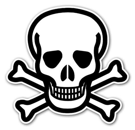 chemischer totenkopf stickerapp