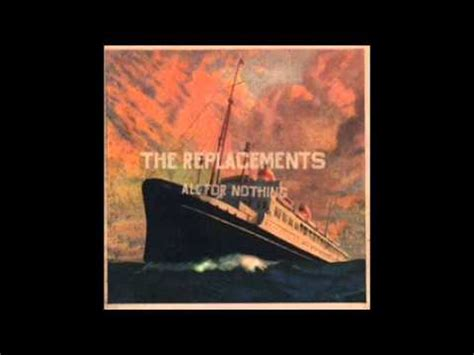 lyrics the replacements the replacements all he wants to do is fish lyrics