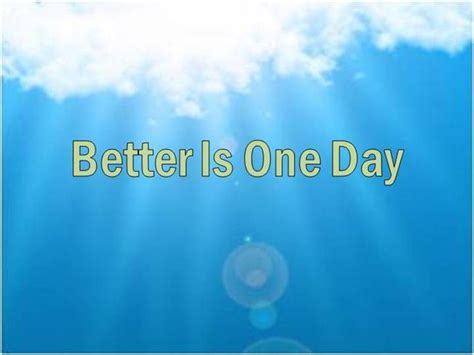 better is one day better is one day authorstream