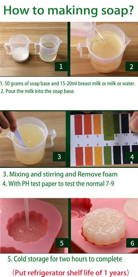 How To Make Handmade Soap Organic - organic clear white glycerin melt pour soap base diy