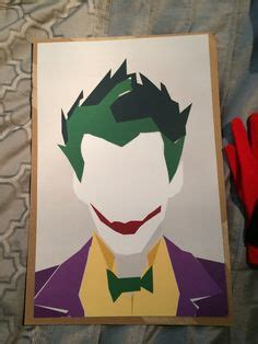 minimalist joker tattoo the joker heath ledger custom hand painted acrylic by