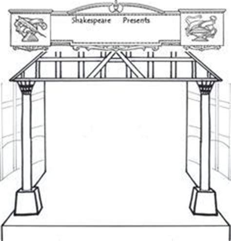 coloring page of globe theater coloring globe theatre coloring pages