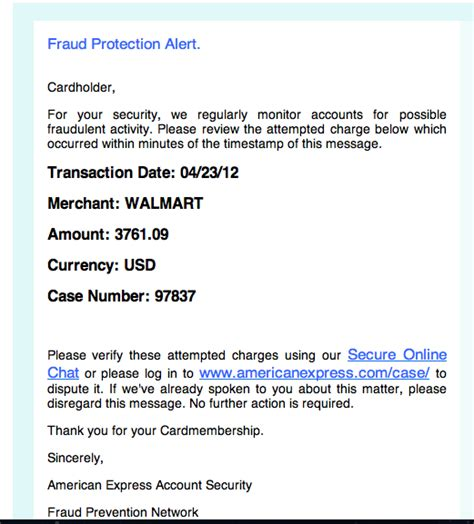 format email american express new american express scam email terry ambrose