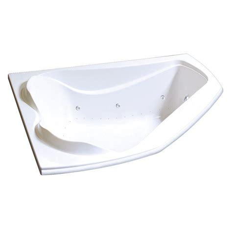 Air Bathtub by Universal Tubs Quartz 5 Ft Whirlpool And Air Bath Tub In