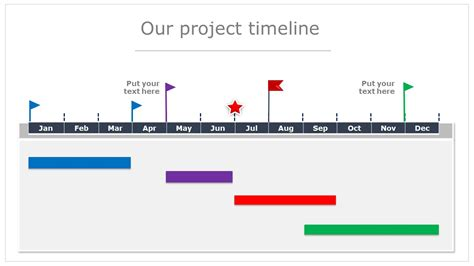 Ppt Project Timeline Template Commonpence Co Powerpoint Calendar Timeline