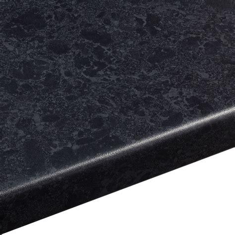 mm midnight laminate black satin granite effect