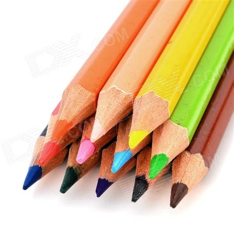 water soluble colored pencils k2012 12 color water soluble colored pencils 12 pcs
