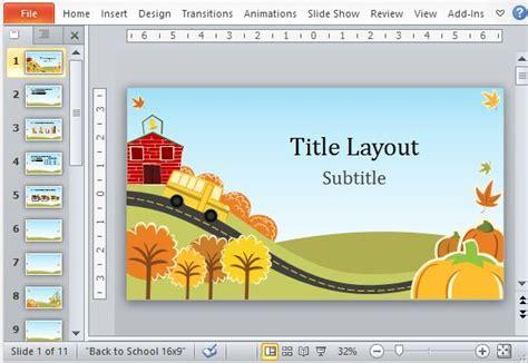 Free Autumn Powerpoint Templates – Autumn Ppt Background   PowerPoint Backgrounds for Free