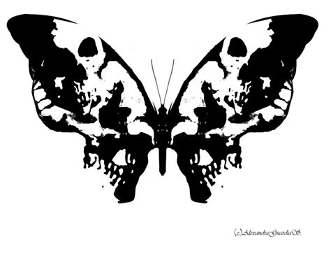 ink blot tattoo inkblot butterfly by alexndhearted on deviantart
