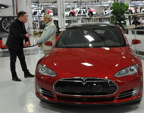 Tesla Motors India Price Tesla Shifting Gears After Talks With India Renewable Ml