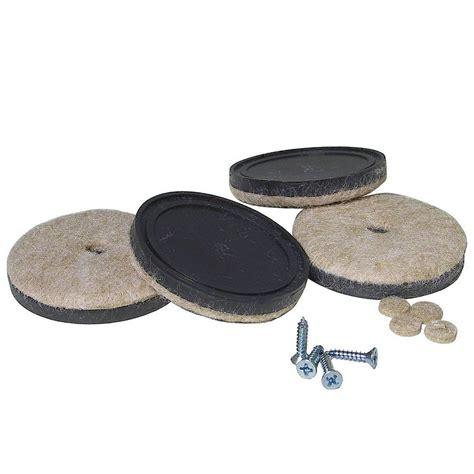 richelieu hardware assorted black felt pads 33 pack