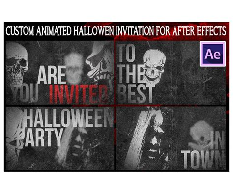 After Effects Animation Templates by After Effects Animation Invitation