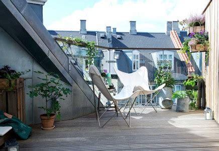 balkon dach balkon eingebaute dach wohnideen einrichten