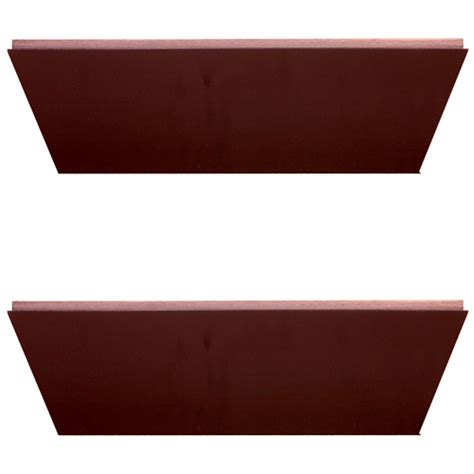 nexxt conrad 12 inch floating wall shelf java set of 2