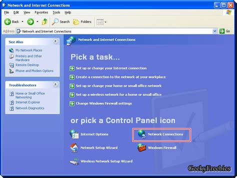 better dns than how to change dns server in windows xp geekyfreebies