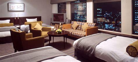 Bedded Room - 4 bedded room keio plaza hotel tokyo