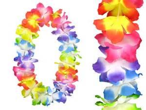 collier fleur tahiti collier fleur multicolore deluxe hkm 02 d 233 guisement