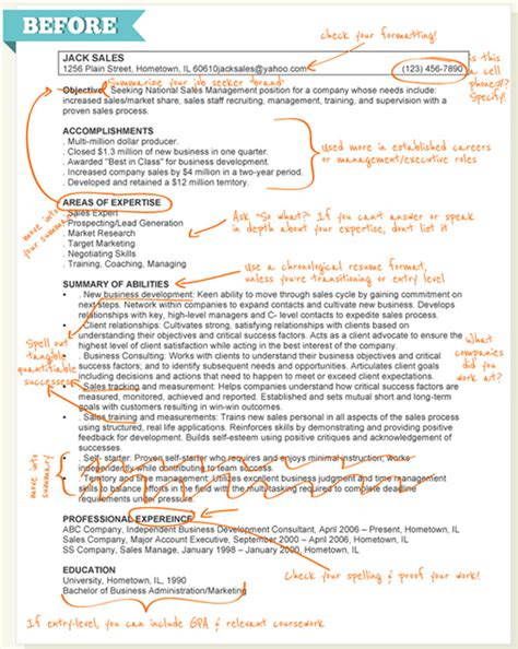better resume format how to make your resume better infographic business