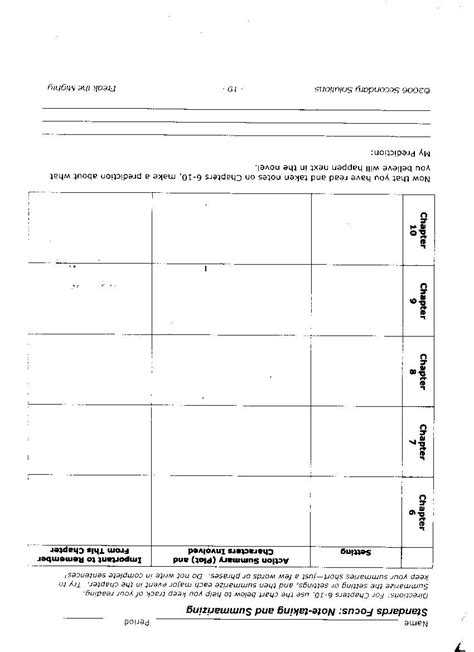 Freak The Mighty Worksheet Answers by Free Worksheet Freak The Mighty Worksheets Phinixi