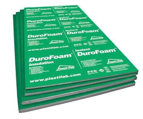 durofoam eps rigid insulation 96inch x 48inch x 3 4inch