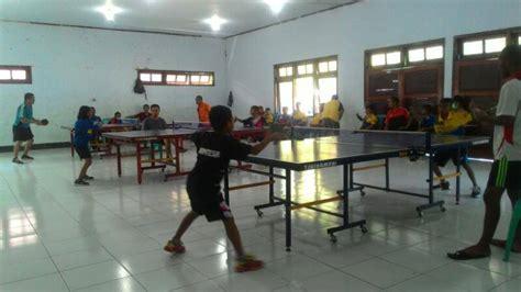 Tenis Meja Bekas Jakarta jaring bibit atlet ptmi gelar kejuaraan antar pelajar portal berita dompu